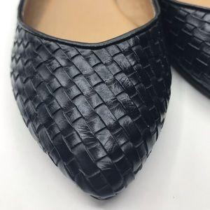 Fergalicious Shoes - Flats Shoes sz 6 Black Basket Weave Shelby Ballet